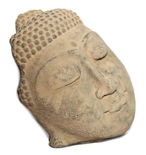 Buddha Face Garden Accent