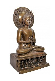 Sitting Buddha Thai Bronze