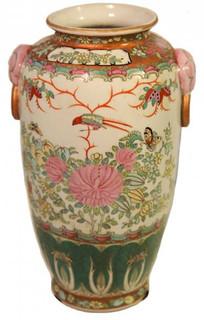 Chinese Porcelain Famille Rose Flower Vase