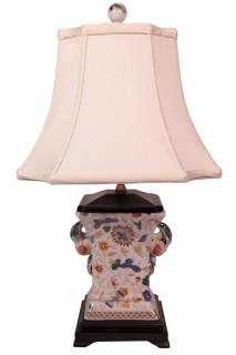 Peach handle vase