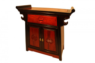 Rosewood Altar Cabinet