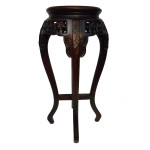 "30"" H Oriental Marble Top Stand"