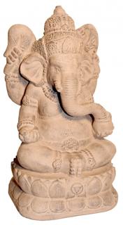 Ghanesha Meditating Garden Statue