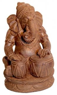 Tabla Ganesha Garden Statue