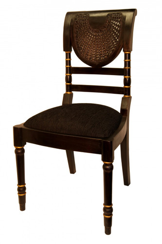 Black Lacquer Chair Kipas style