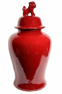 Ox Blood Jar