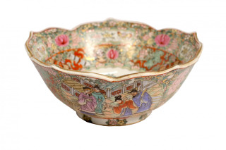 Oriental porcelain table bowl