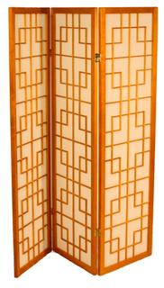 "60"" H Asian room divider"