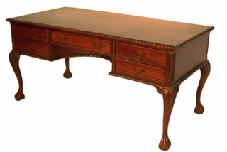 Chippendale partner desk