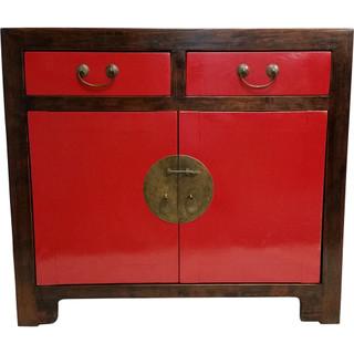 2-Door Oriental Buffet with Drawers
