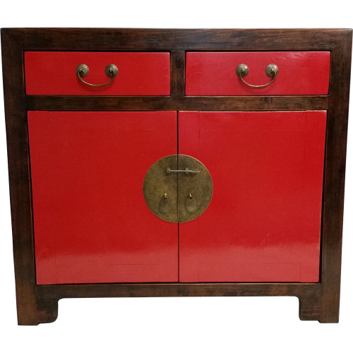 2-Door Oriental Buffet with Drawers