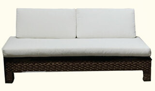 55 inches by 33 by 30 inches high love seat or settee