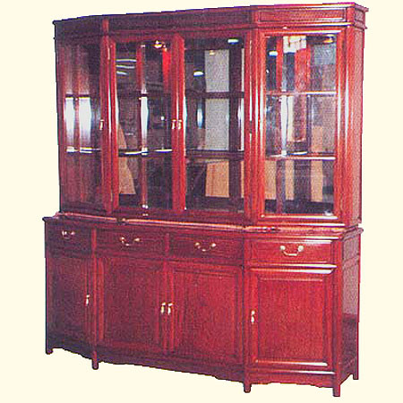 Oriental China Cabinet 72 Quot Wide Solid Rose Wood With