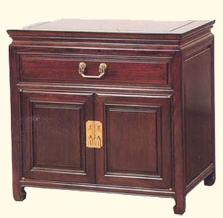 1 drawer nightstand / commode with 1 drawer