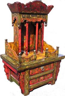 21 inch wide Buddha Stand