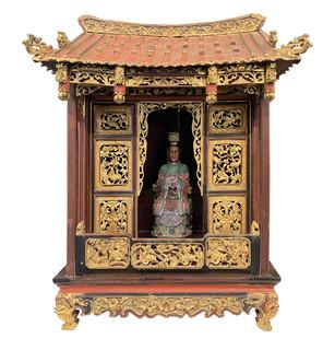 Oriental Buddhist Table Top Spirit Box