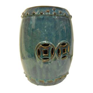 Ceramic double happiness stool