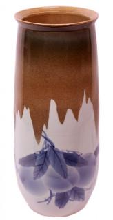 17'H  Oriental Peach Vase