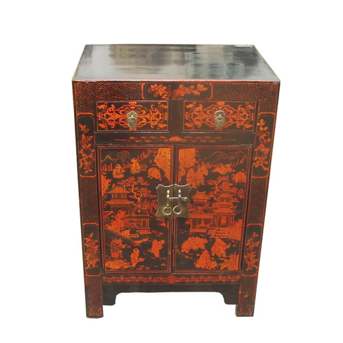 Chinese shoe cabinet
