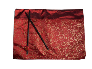 Oriental Place mat with chopsticks