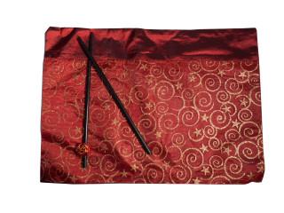 Oriental Place mat with chopsticks