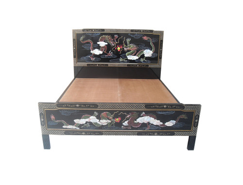Oriental Dragon Bed