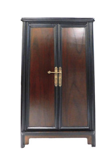 Chinese Ming Style Splayed Cabinet