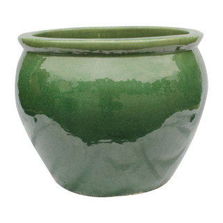 Jade Green Oriental Planter