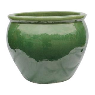Jade Green Oriental Planter