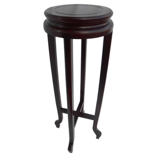 Asian Ming Style Round Plant Stand