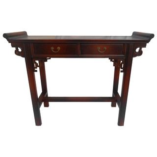 Asian Wing Top Altar Table