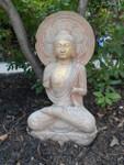 Thai Style Stone Buddha
