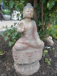 Stone Garden Buddha Statue
