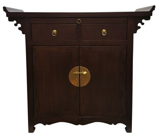 Altar Top Cabinet By Oriental Furnishings