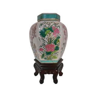 Famille Vert Porcelain Jar