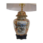 Japanese porcelain lamp