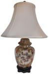 Japanese porcelain lamp