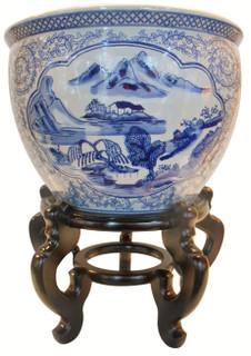 Chinese Planters Fish Bowls Oriental Furnishings