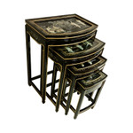 Oriental Stacking Tables