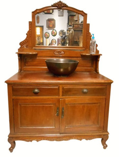 Antique Chinese Vanity