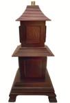 Temple Pagoda Lamp
