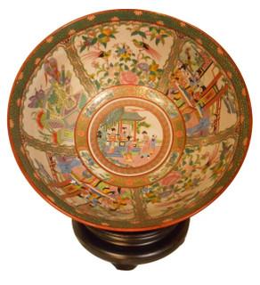 Rose Medallion Table Bowl