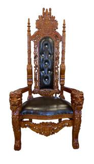 Baroque Lion King Chair