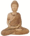 Meditating Stone Garden Buddha