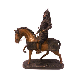 Bronze Japanese Samurai General