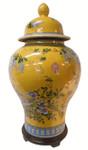 Porcelain Temple Jar