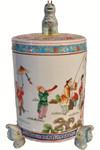 Deer Jar Handle Jar