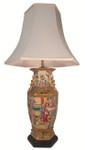 "32"" H. Rosemedallion table Lamp"