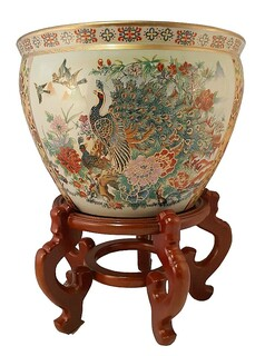 Chinese Planters Amp Fish Bowls Oriental Furnishings