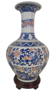 Three Colored Chinese Porcelain
